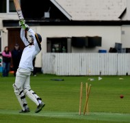The Railway Union ends... bowled neck and crop!
